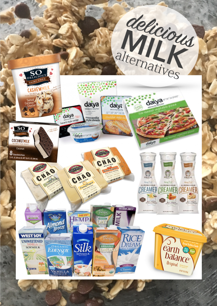 Vegan Milk Alternatives