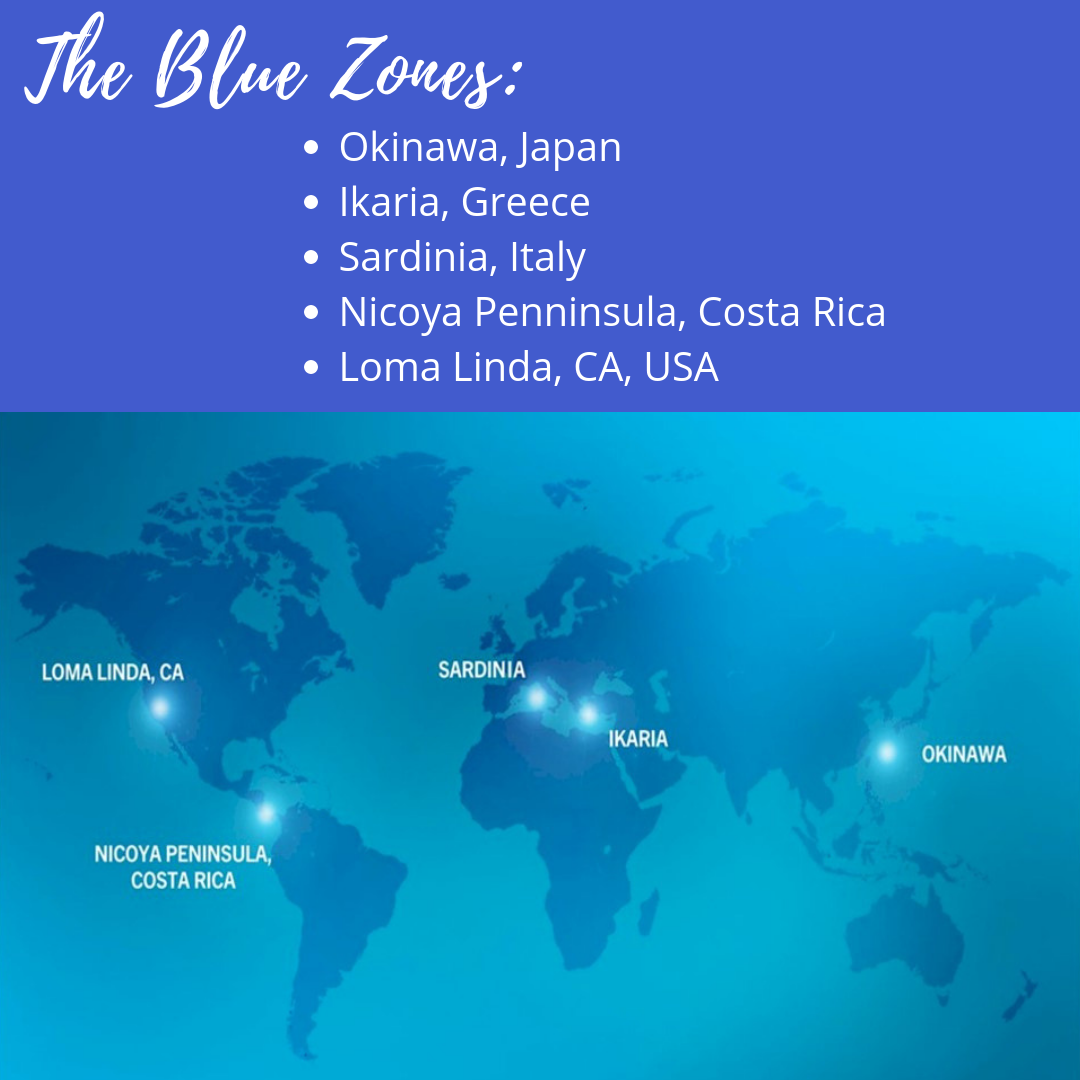Blue Zones - Live to 100 years, The Blue Zone Way - Lessons