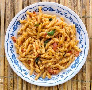 Mediteranean pasta dish