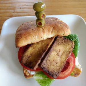 tofu sandwhich