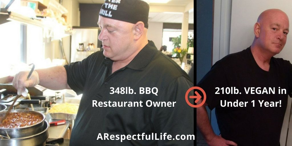 48lb. BBQ restaurant owner