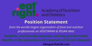Position Statement Academy of Nutrition and Dietetics