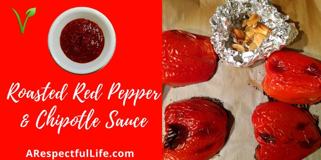 Roasted Red Pepper & Chipotle Sauce