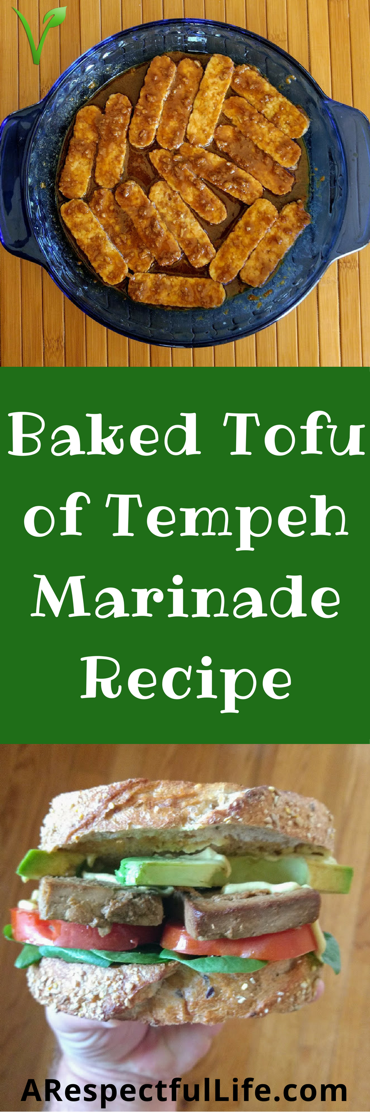 Baked Tofu or Tempeh Marinade Recipe