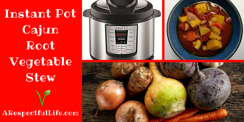 Instant Pot Cajun Root Vegetable Stew
