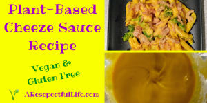 Plant Based Cheese Sauce Recipe