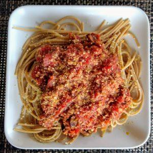 vegan spaghetti sauce