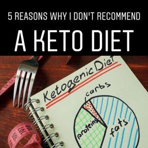 5 reasons no keto diet