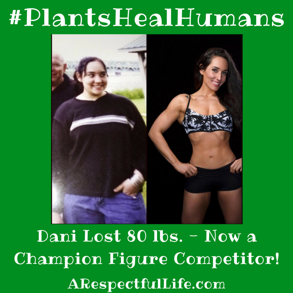 Dani Lost 80 lbs. - Now a Champion Figure Competitor!