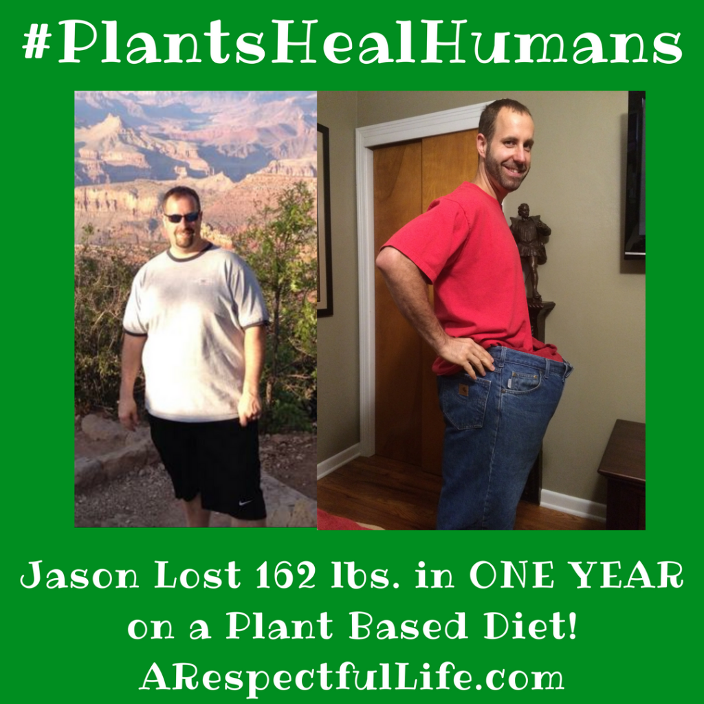 Jason Lost 162 lbs. in ONE YEAR on a Plant Based Diet!