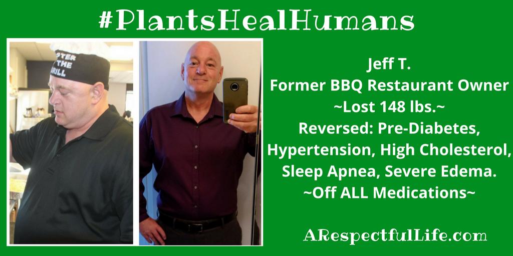 Jeff T. Former BBQ Restaurant OwnerLost 148 lbs. Reversed..
