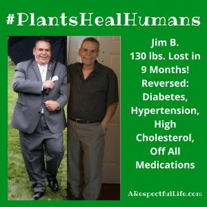 #PlantsHealHumans Jim B