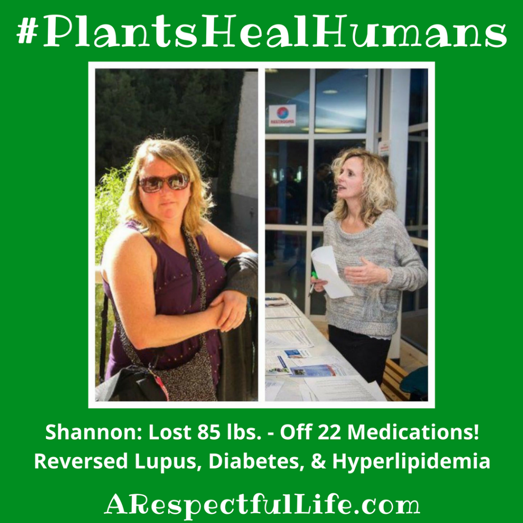 Shannon_ Lost 85 lbs. - Off 22 Medications!Reversed Lupus, Diabetes, & Hyperlipidemia!