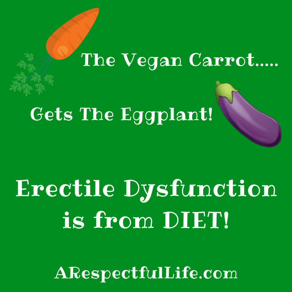 The Vegan Carrot Gets The Eggplant