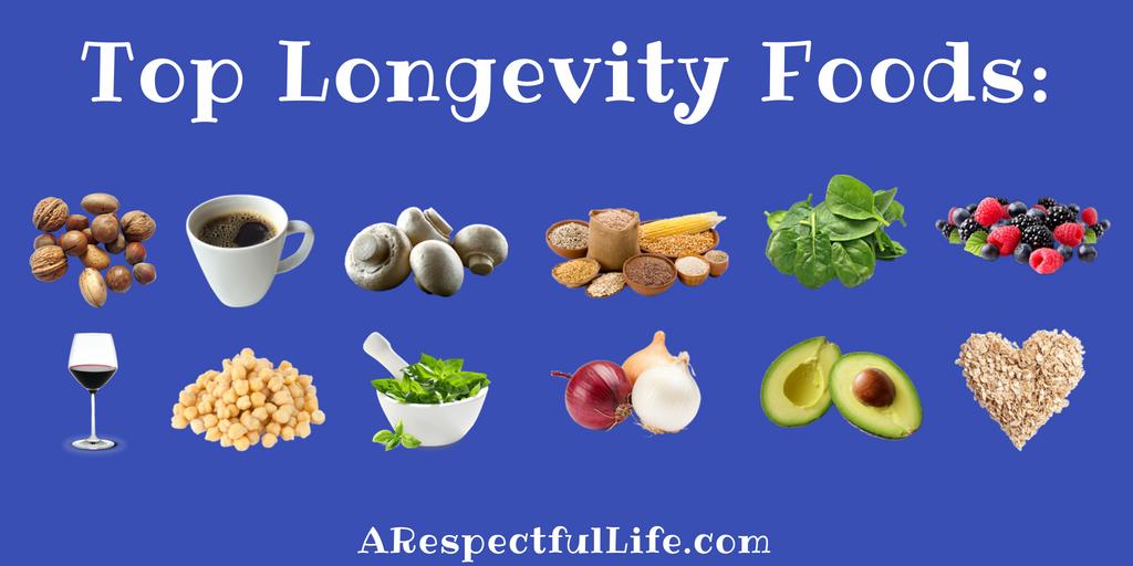 longevity diet food list