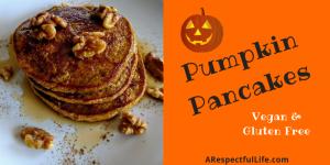 Gluten Free Pumpkin Pancakes recipe vegan