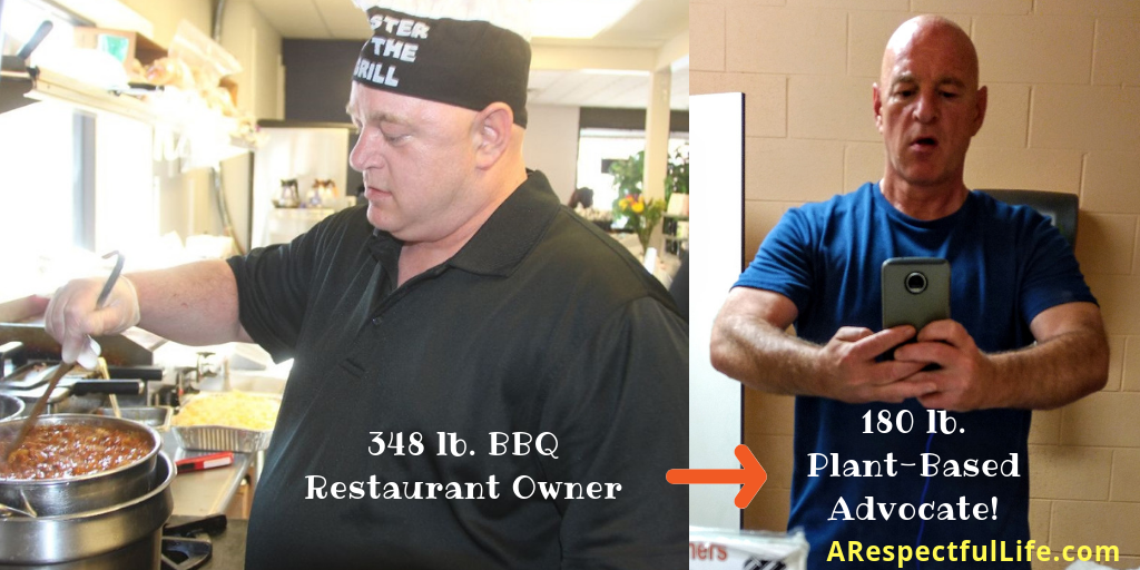 348 lb. BBQ Restaurant Owner to 180