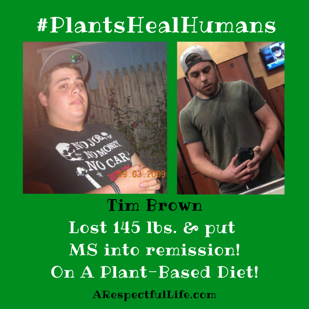 Time put multiple sclerosis into remission on a plant based diet