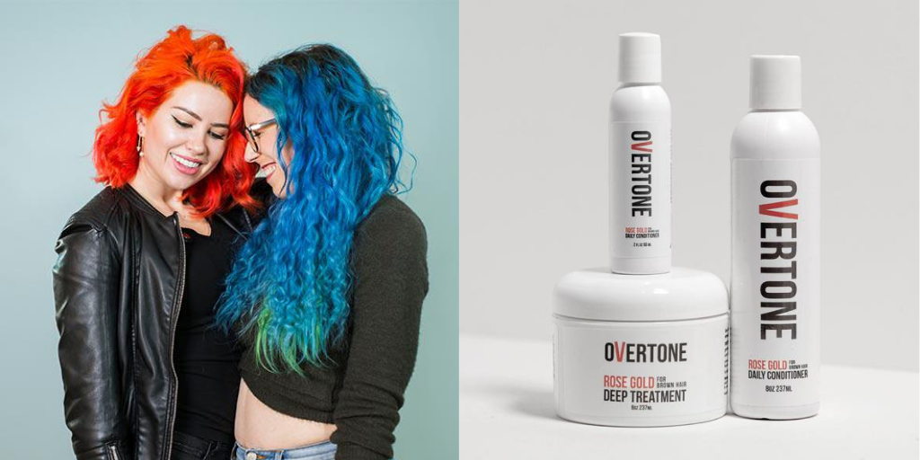 oVertone cruelty free hair products